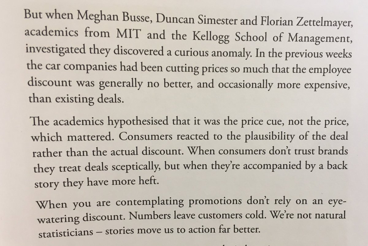 💎 On the importance of providing a backstory to price cuts (plausibility of the deal)