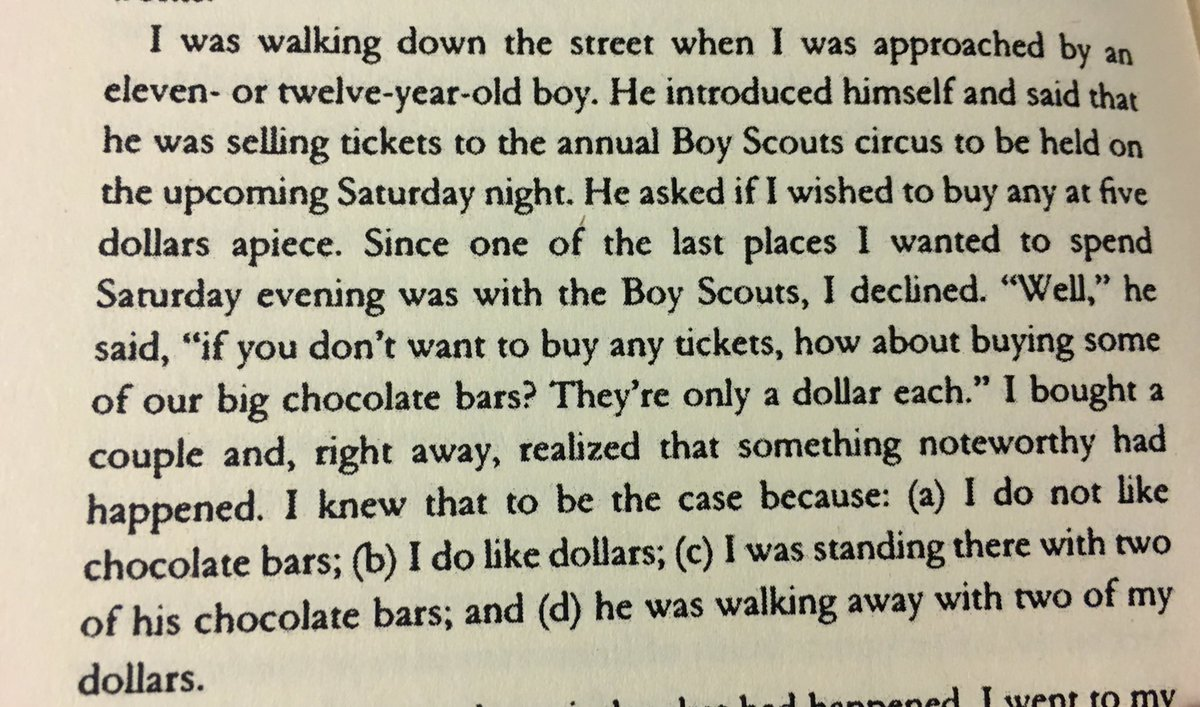 Cialdini on how a canny Boy Scout used the rejection-retreat principle to boost sales