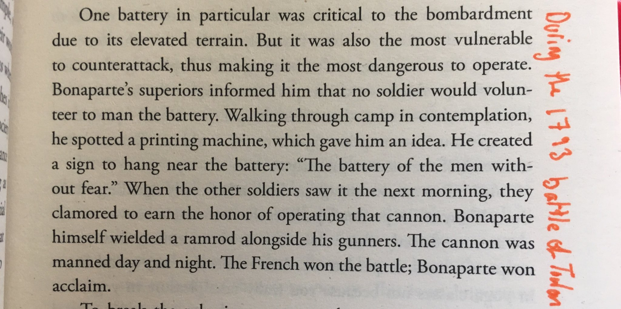 💎 On leading from the front (an example of Napoleon's leadership)