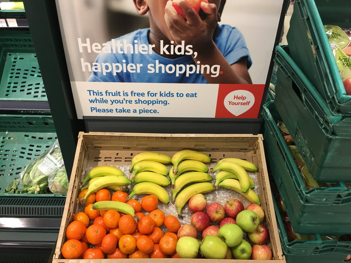 Smart tactic from Tesco for encouraging healthy eating