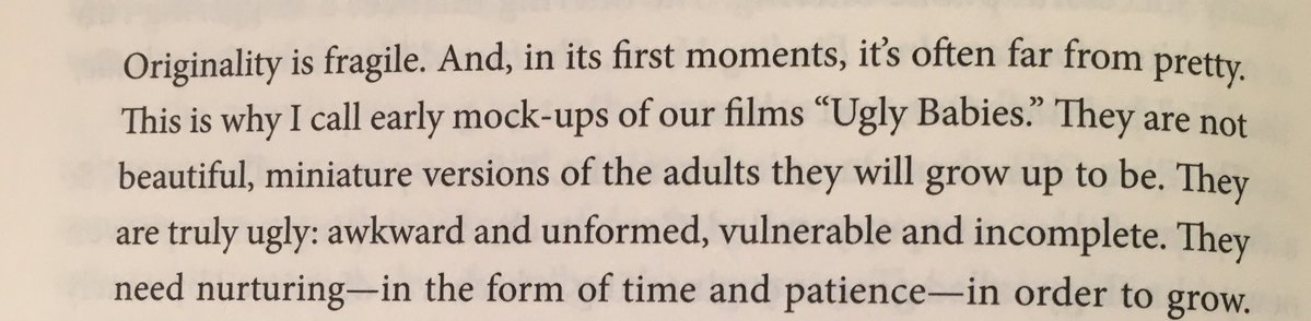 """💎 On how Pixar's most original and successful films started out (as """"Ugly Babies"""")"""