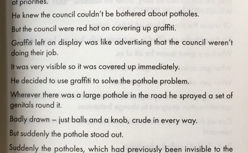 💎 On a little bit of controversy going a long way (fixing potholes)