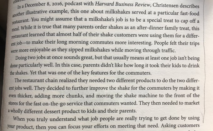 💎 On the importance of finding the real, and sometimes hidden, reason for someone purchasing your product (a tale of milkshakes)