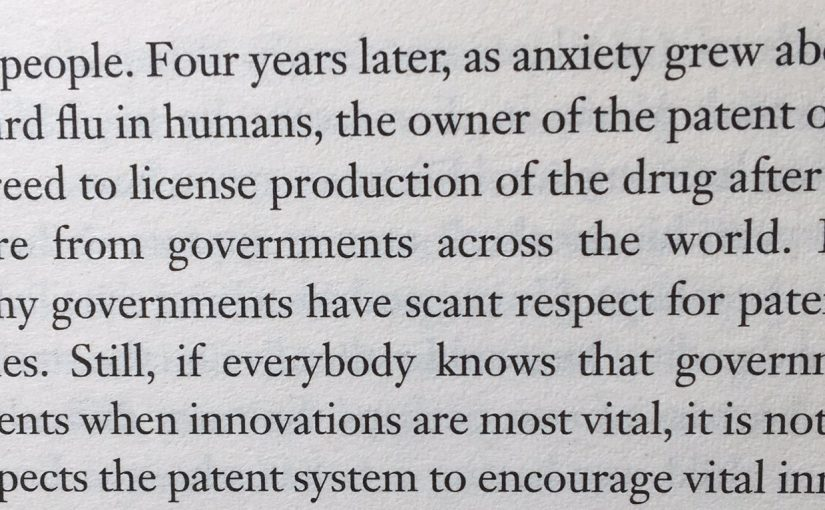 On dangerous unintended consequence that hamper vital innovation