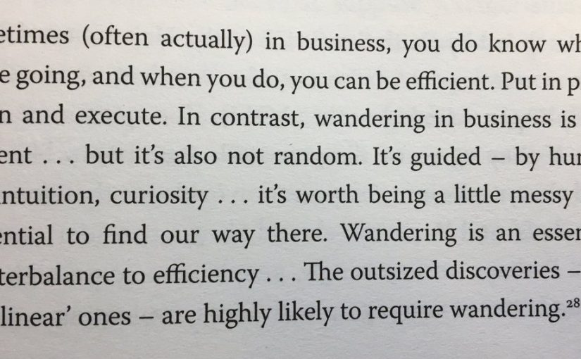 On the benefits of efficiency and the dangers of pursuing it too far