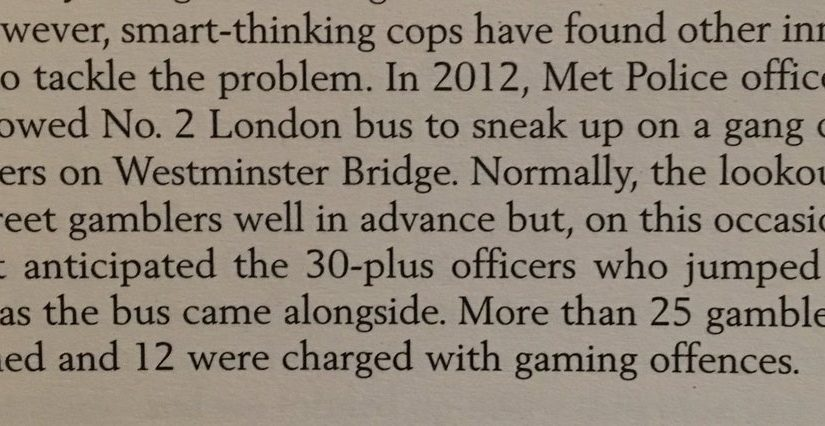 💎 On the power of surprise to fight crime (by the London Met)