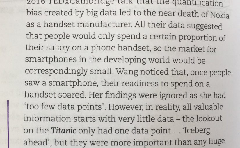 💎 On the danger of ignoring small data sets (almost killing Nokia)