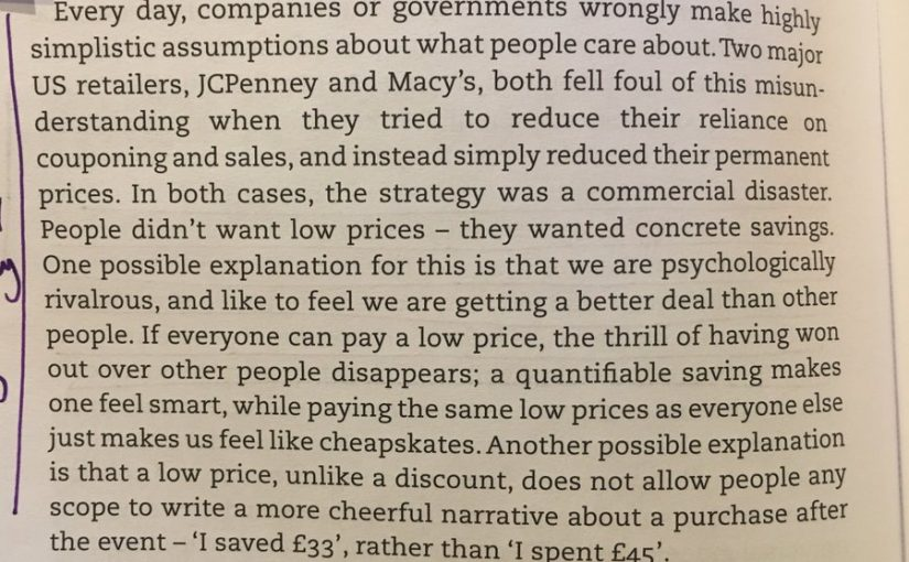 💎 On the dangers of everyday low pricing (as JCPenney and Macy's found)