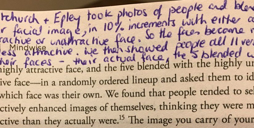 💎 On how we overestimate ourselves (even when it comes to our image)