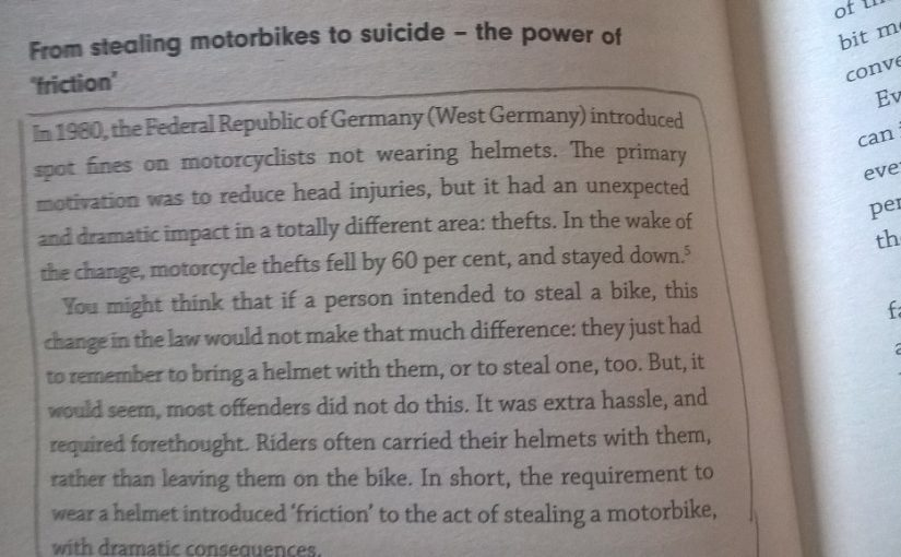 💎 On the unintended consequence of public policies (motorcycle helmets)