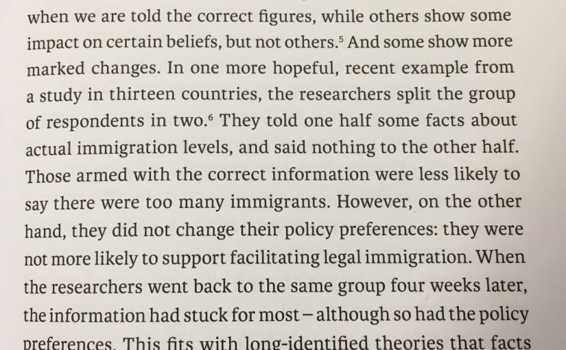 💎 On the ineffectiveness of facts as a tool for changing beliefs (explains politics)