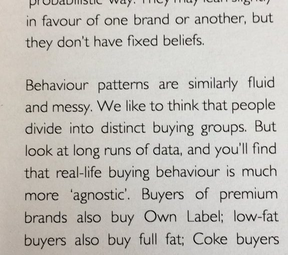 💎 On the fluidity of our buying behaviour (depending on mood and occasion)