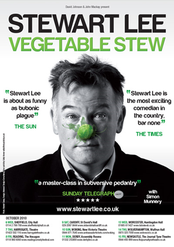 ♦️ Stewart Lee highlighting that sometimes saying who you aren't for is more credible than saying who you are for