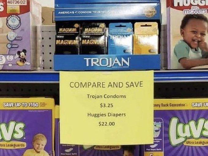 ♦️ Trojan making condoms look like great value