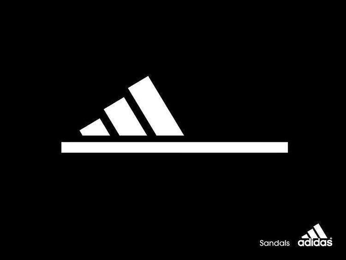 Adidas slippers ad