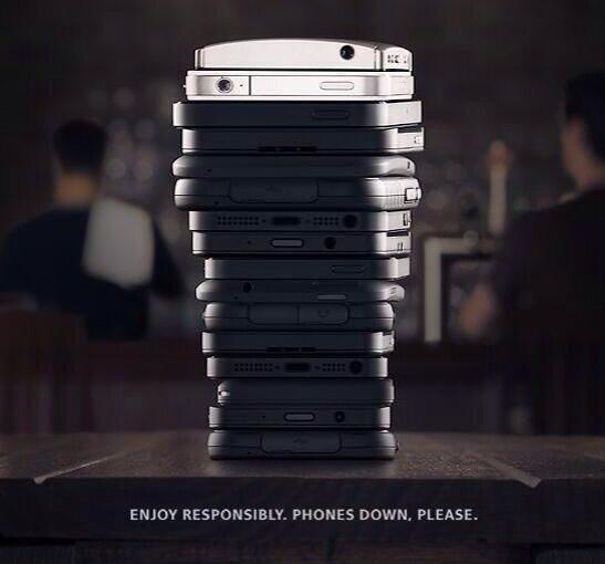 Guinness Phones Down