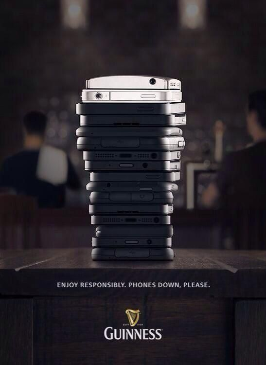 Guinness Phones Down