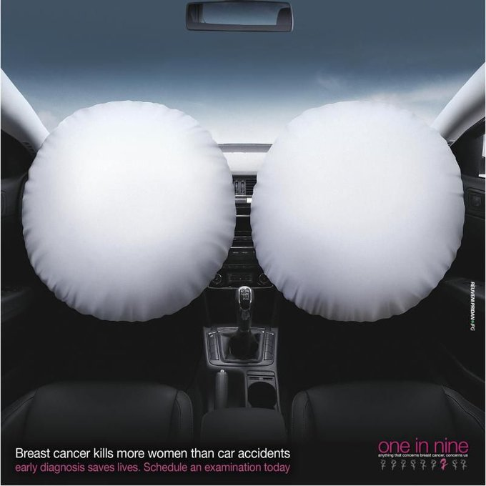 Breast Cancer kills more women than car accidents
