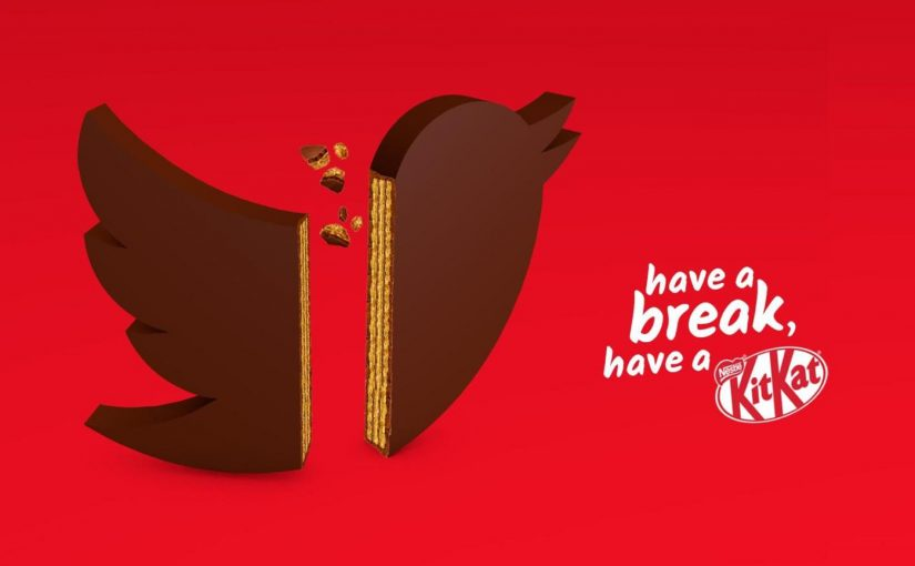 ♦️ KitKat Have a break (from social media)