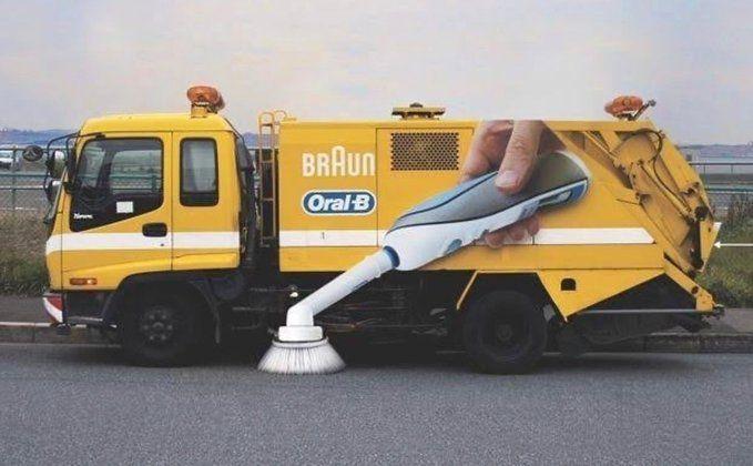 ♦️ Braun Oral B Sweep