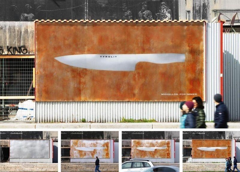 Tyrolit rust free knife
