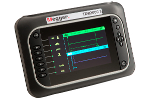 TDR2000/3P Dual Channel Cable Fault Locator