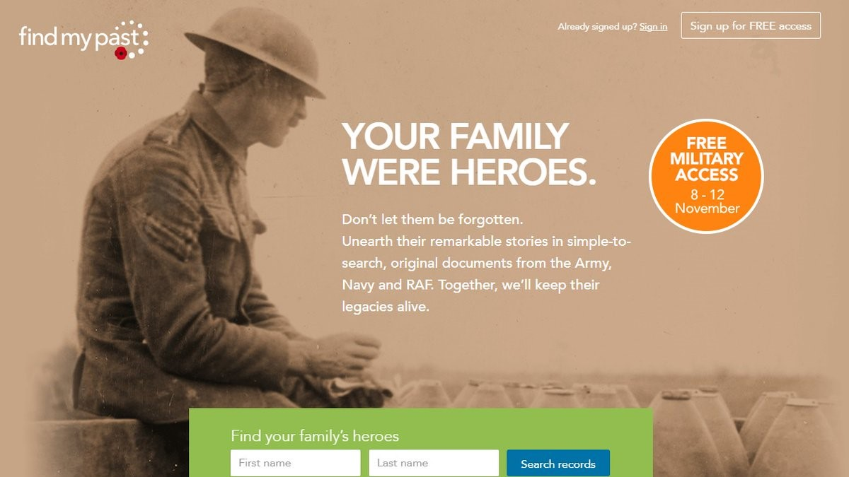 Archives - Search Family Trees & Vital Records