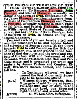 Ovid Independent 8th September 1875