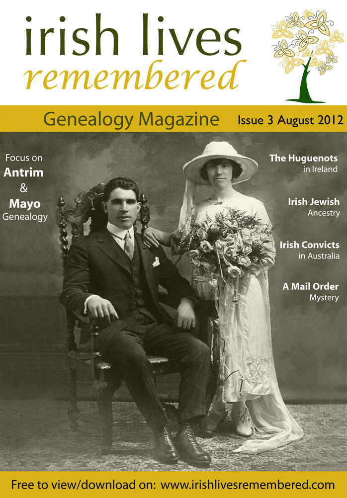 photo of Irish Lives Remembered Issue 3 August 2012