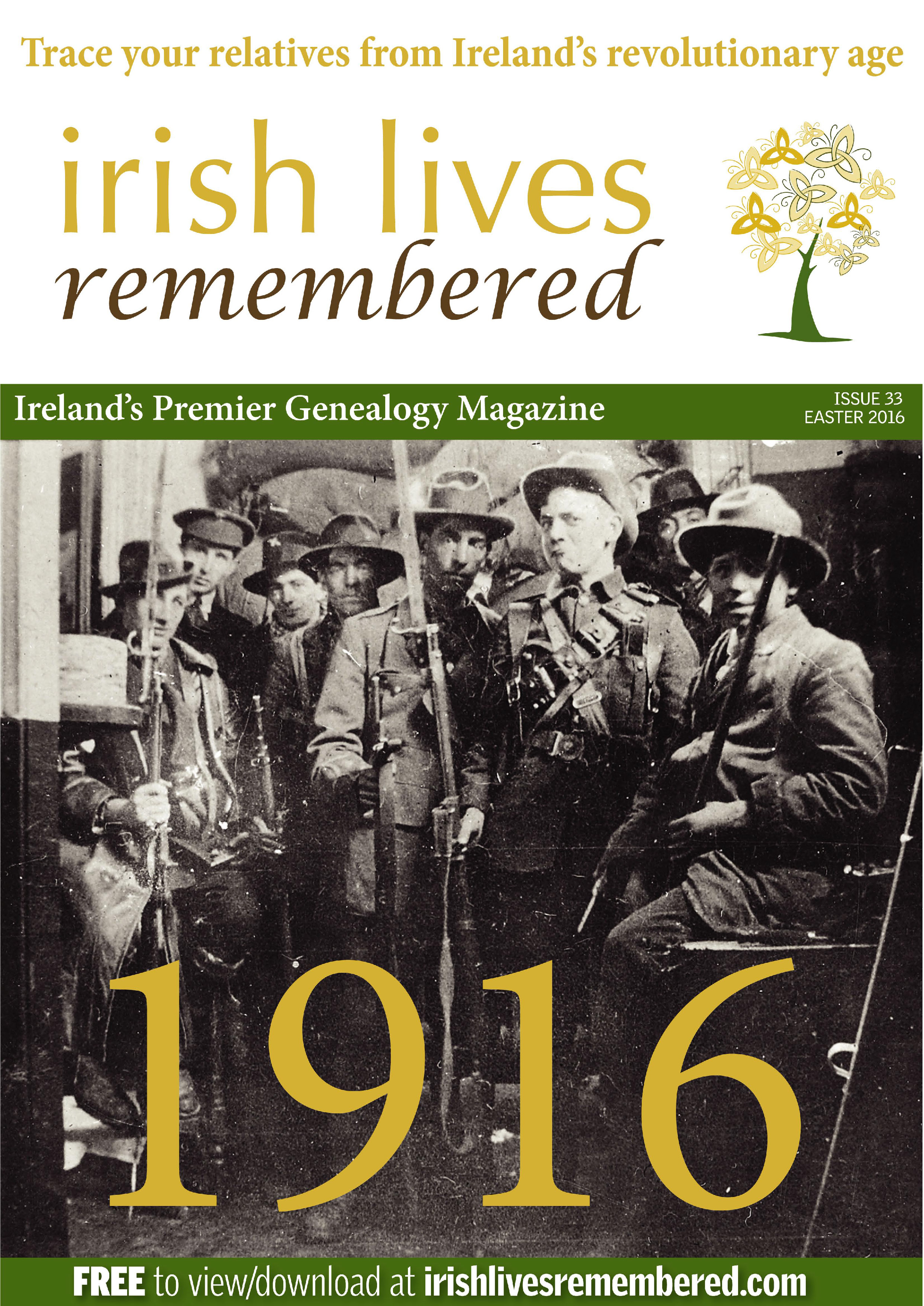 photo of Irish Lives Remembered Issue 33 Easter 2016