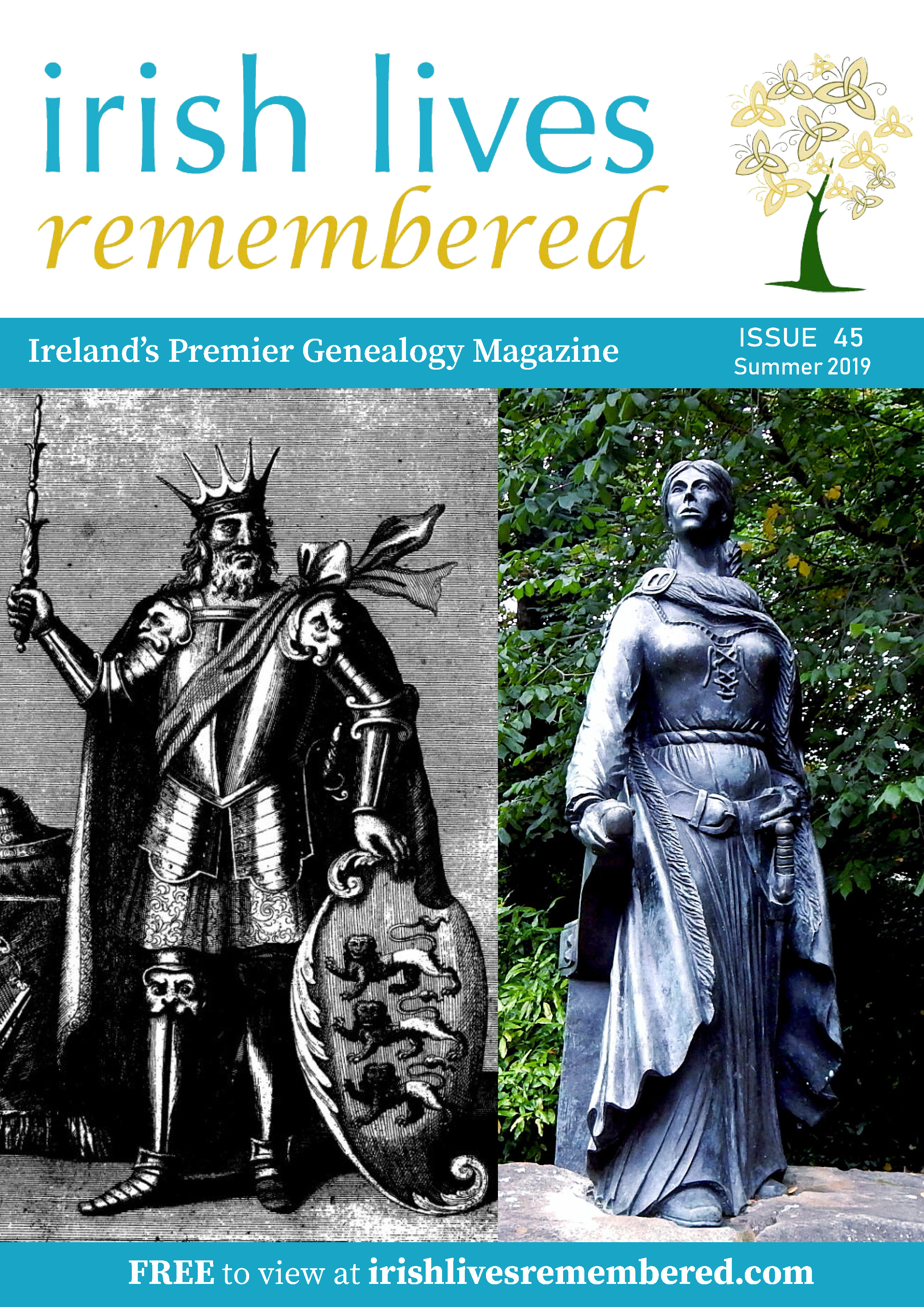 photo of Irish Lives Remembered Issue 45 Summer 2019