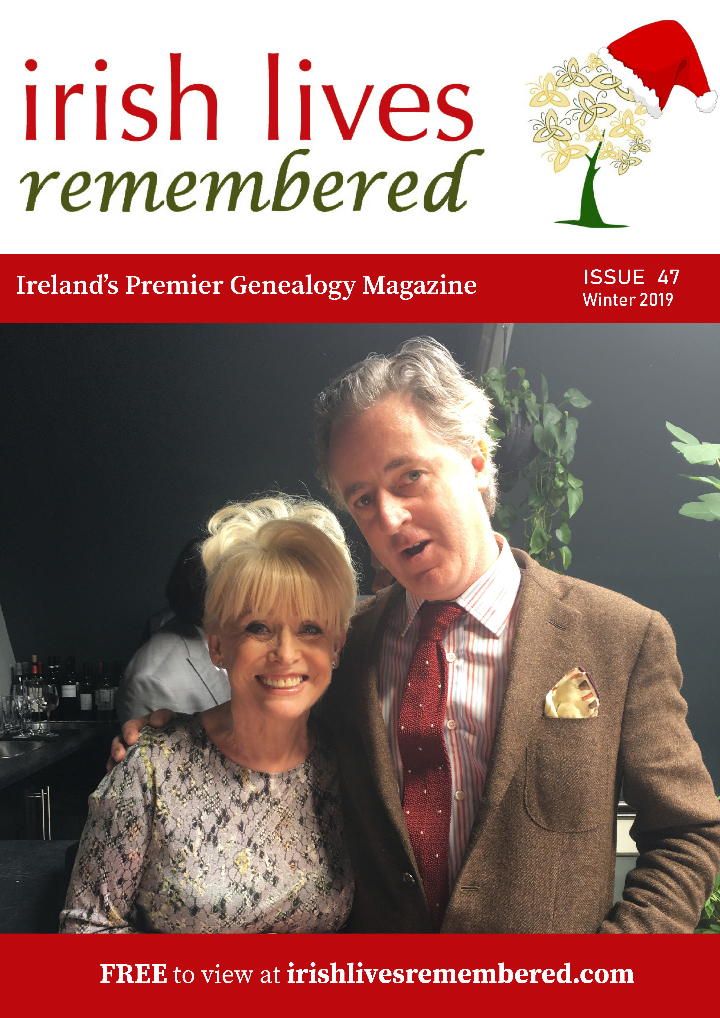 photo of Irish Lives Remembered Issue 47 Winter 2019
