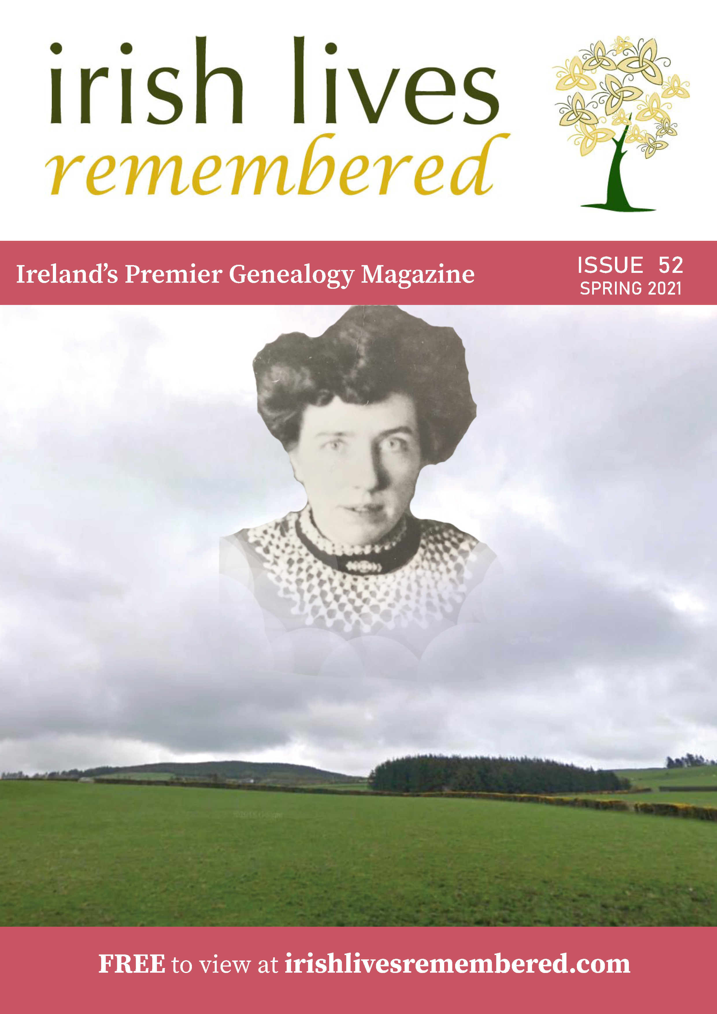 photo of Irish Lives Remembered Issue 52 Spring 2021