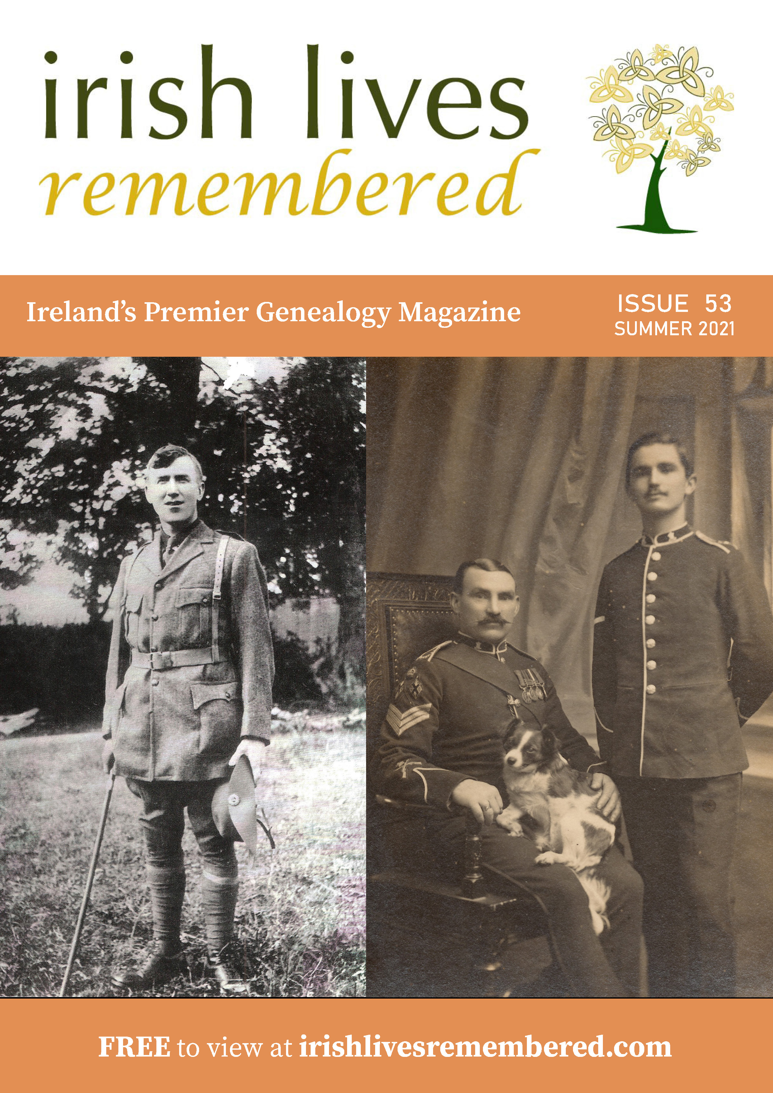 photo of Irish Lives Remembered Issue 53 Summer 2021