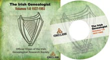 photo of The Irish Genealogist, Vols. 1-8, 1937-93