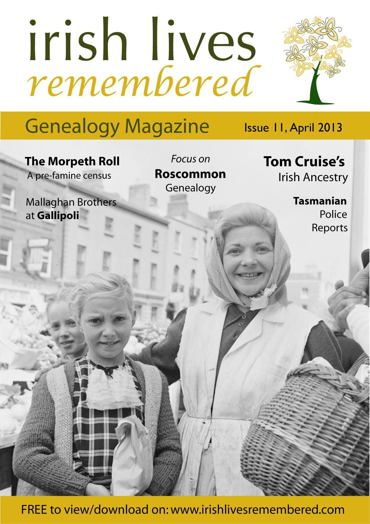 photo of Irish Lives Remembered Issue 11 April 2013