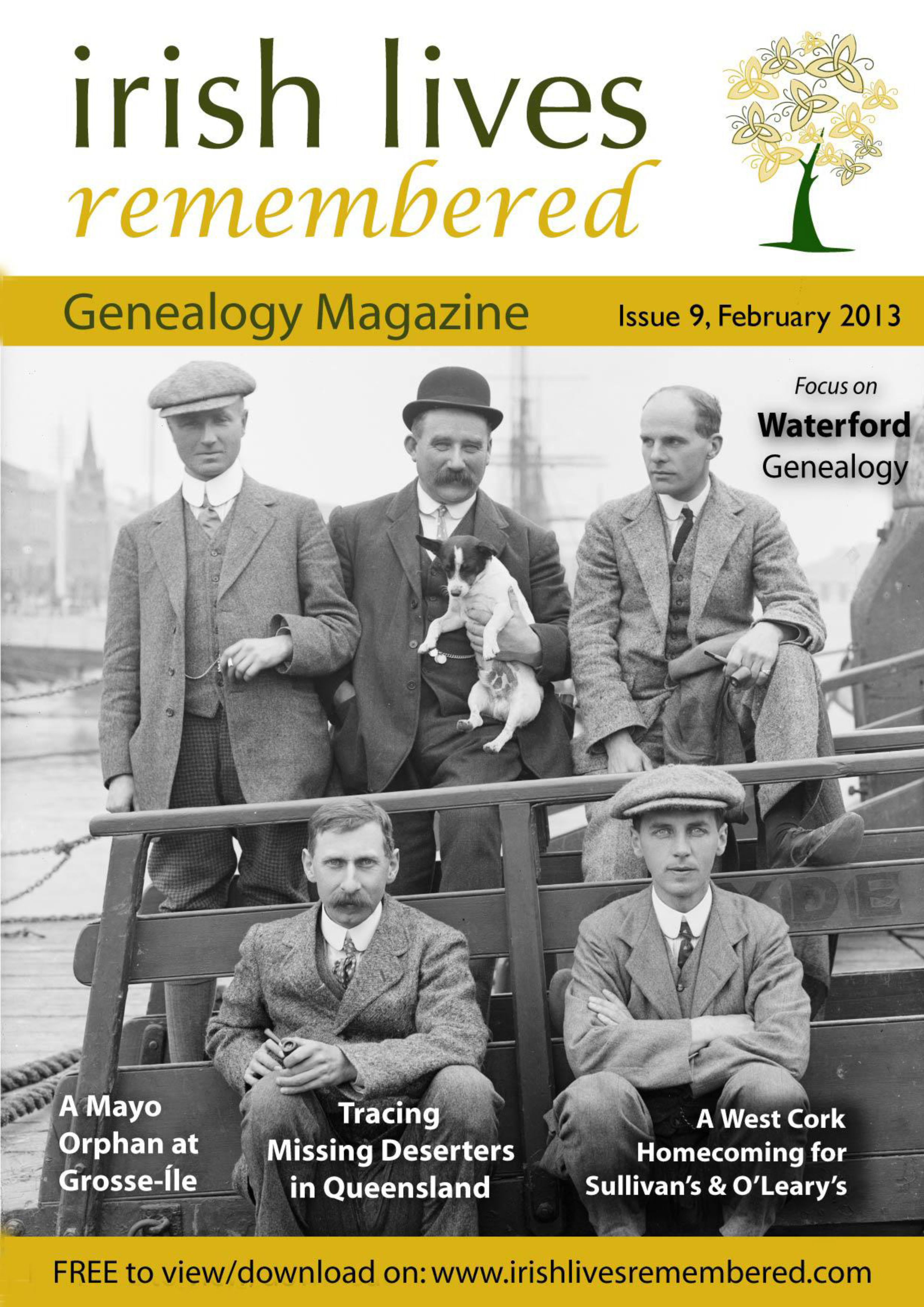 photo of Irish Lives Remembered Issue 9 February 2013