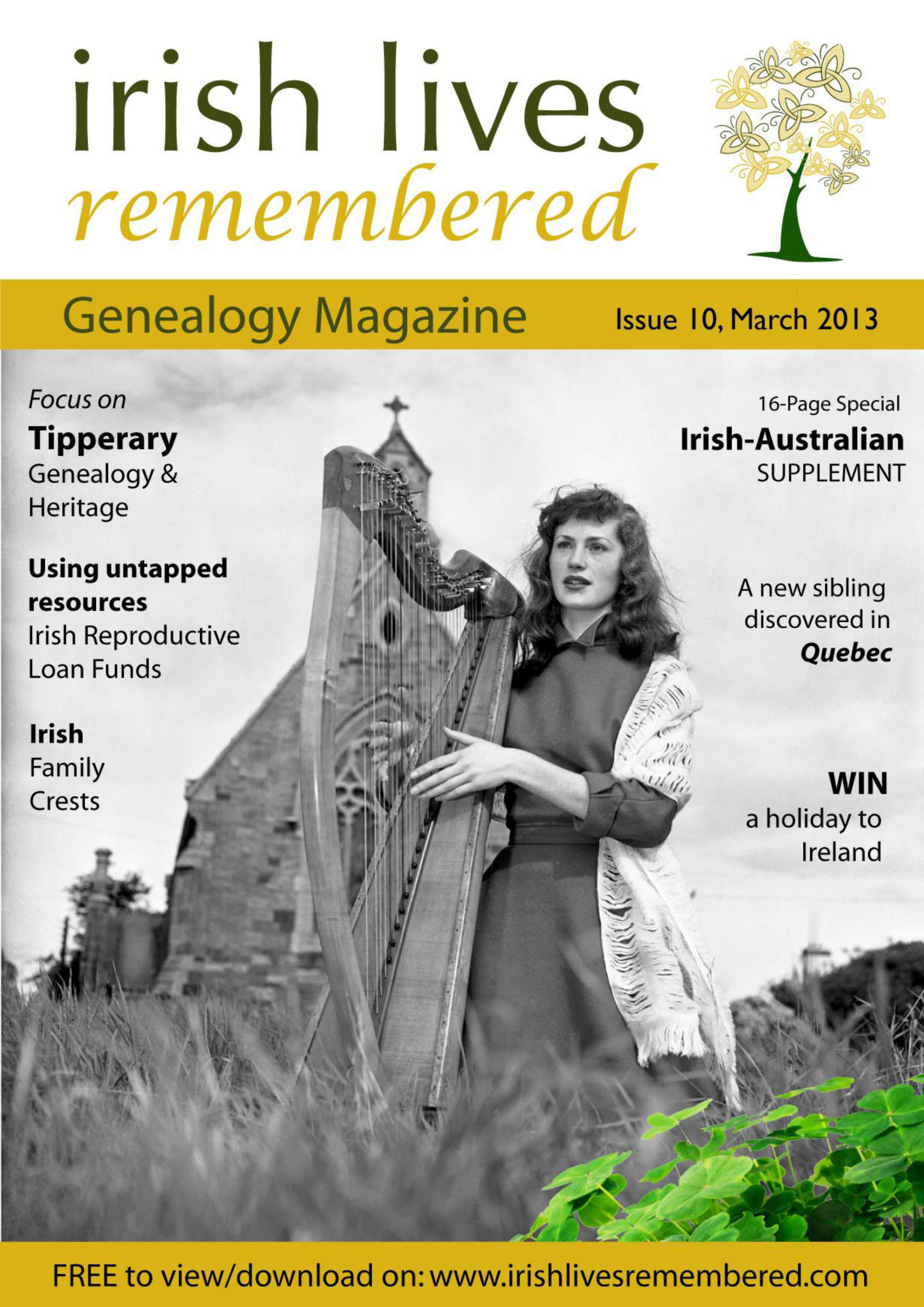 photo of Irish Lives Remembered Issue 10 March 2013