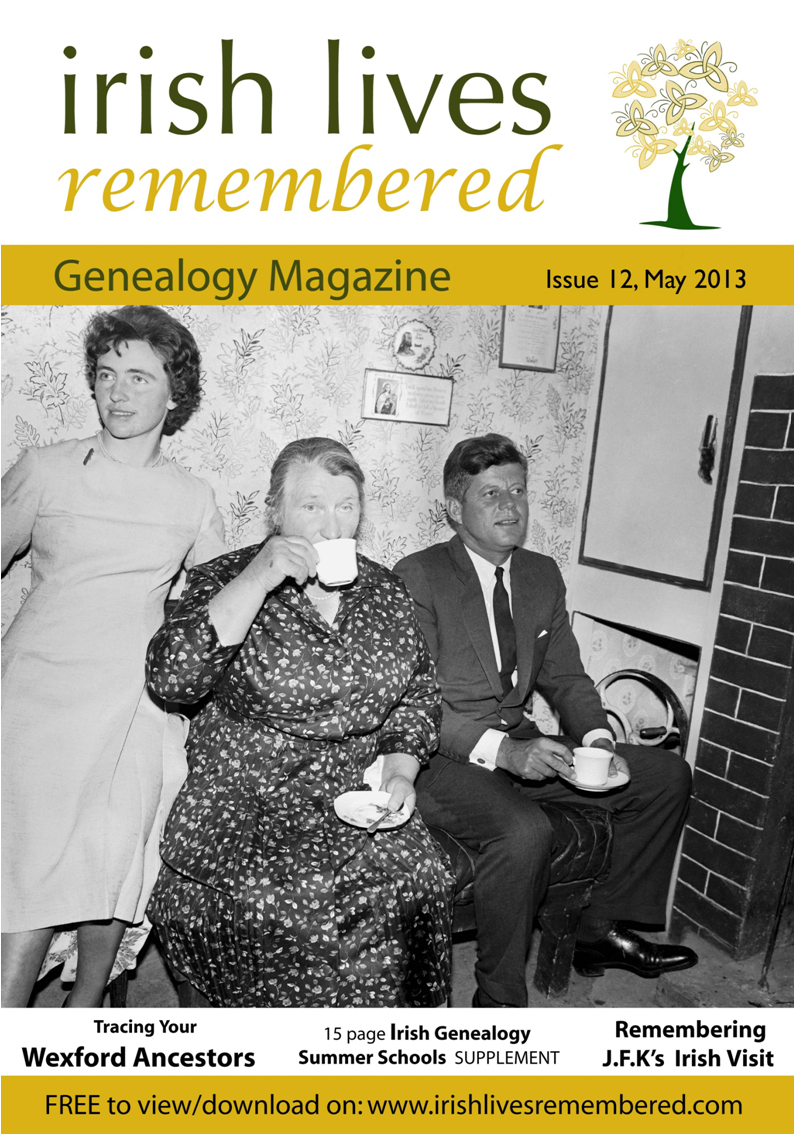 photo of Irish Lives Remembered Issue 12 May 2013
