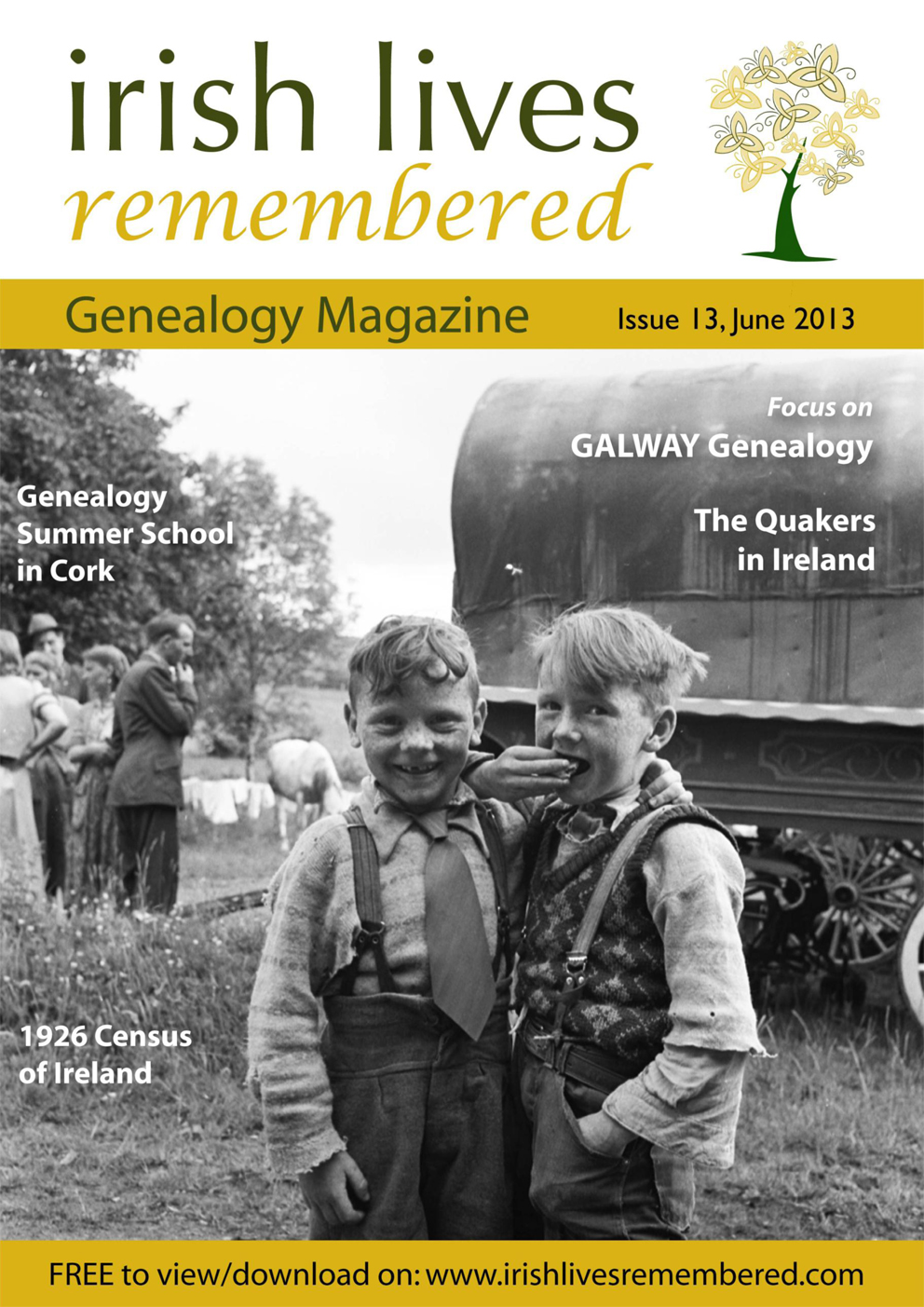photo of Irish Lives Remembered Issue 13 June 2013