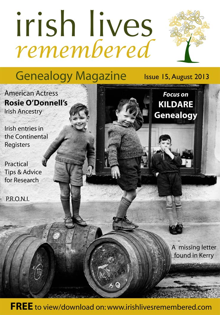 photo of Irish Lives Remembered Issue 15 August 2013