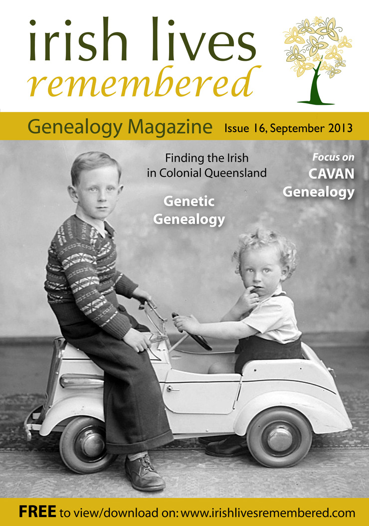 photo of Irish Lives Remembered Issue 16 September 2013
