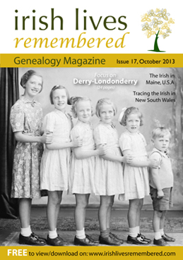 photo of Irish Lives Remembered Issue 17 October 2013