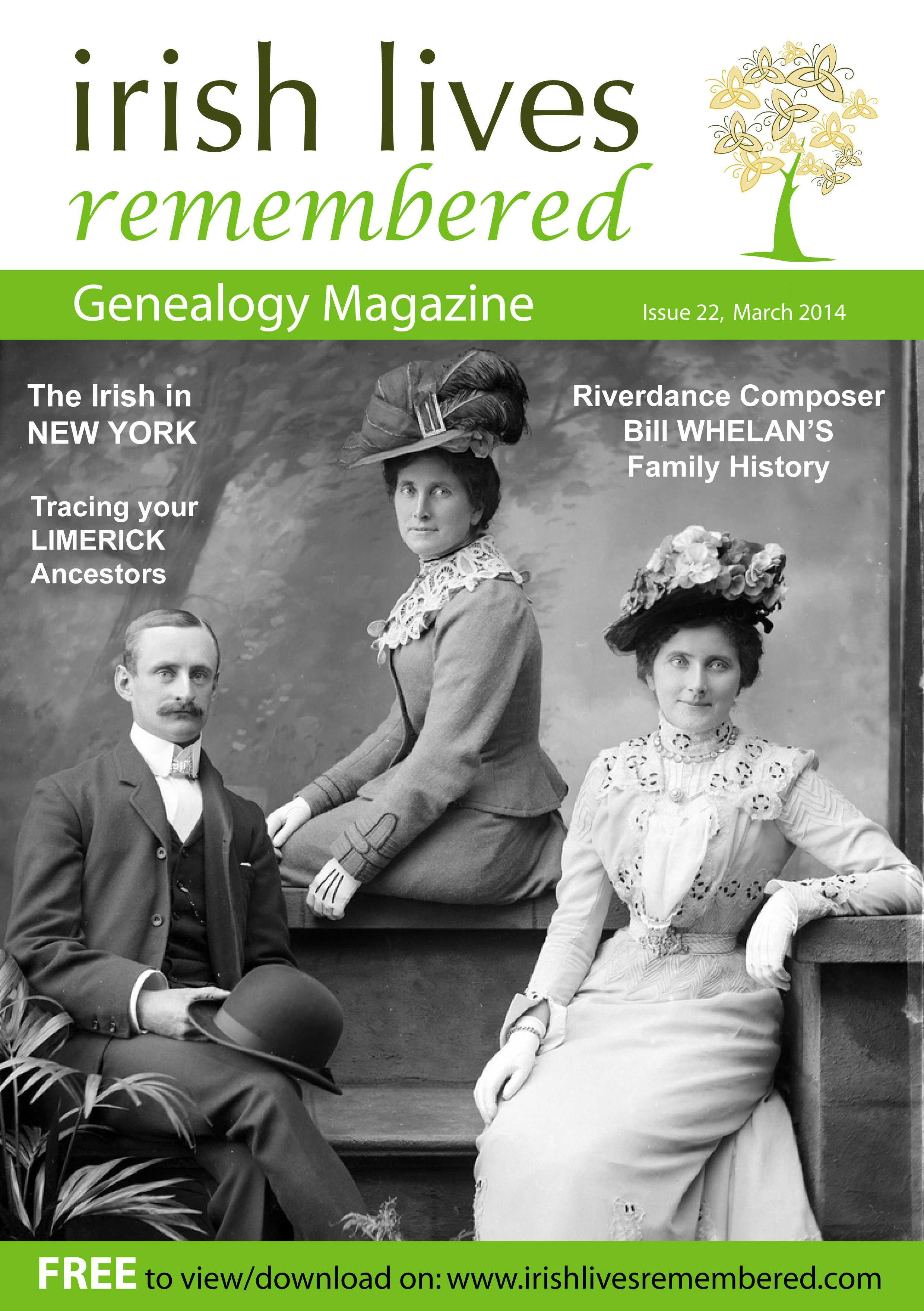 photo of Irish Lives Remembered Issue 22 March 2014