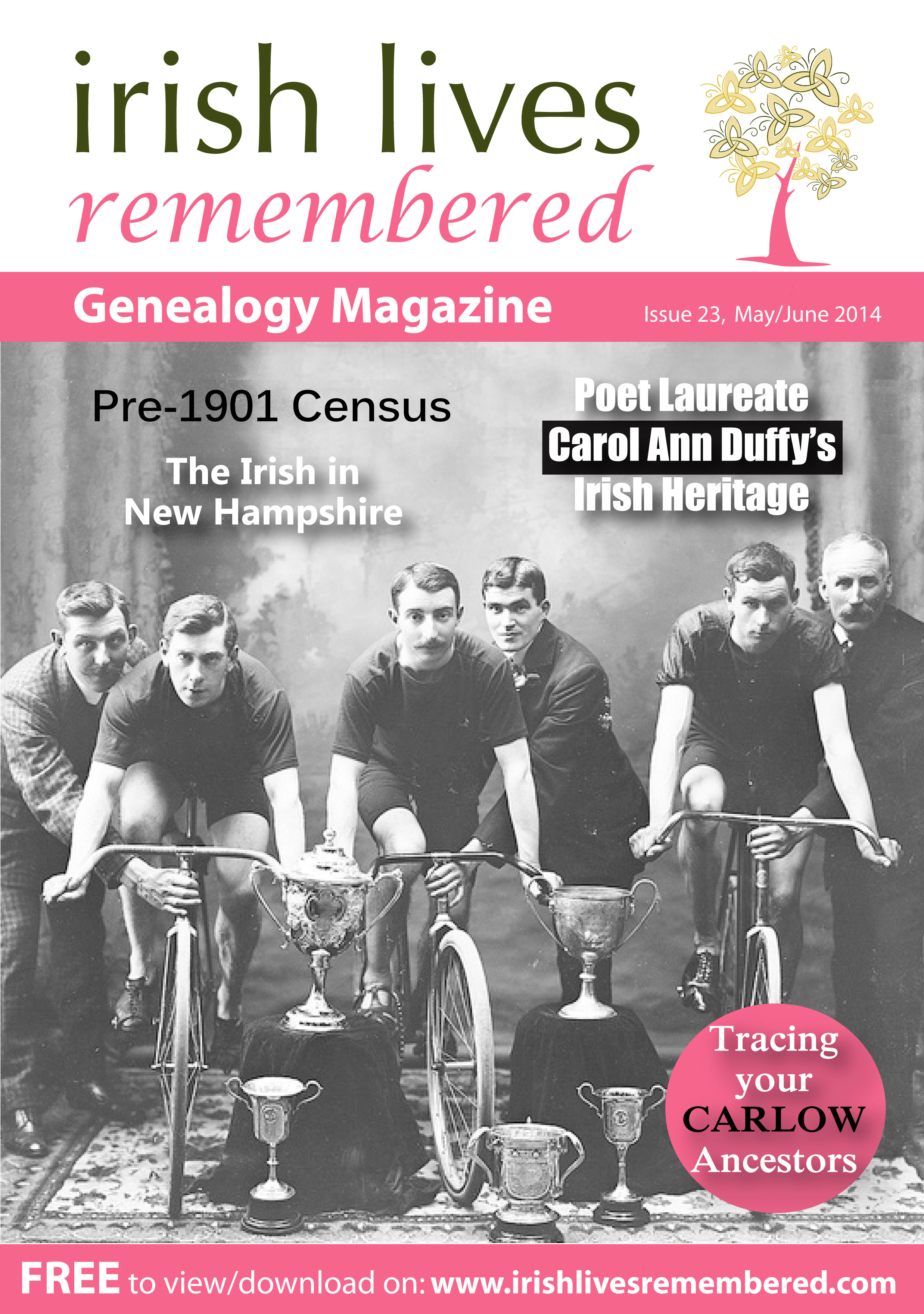 photo of Irish Lives Remembered Issue 23 May June 2014