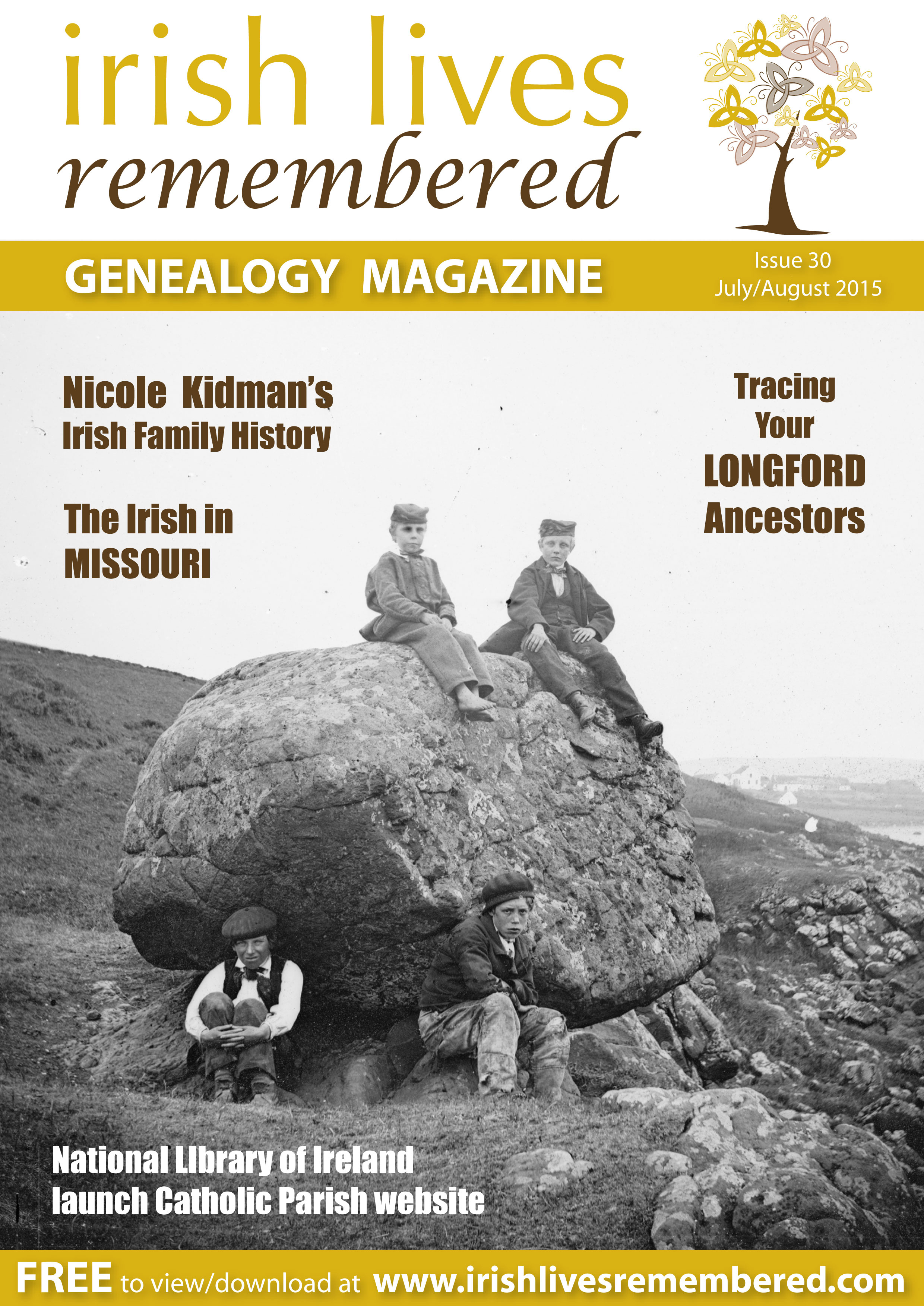 photo of Irish Lives Remembered Issue 30 July August 2015