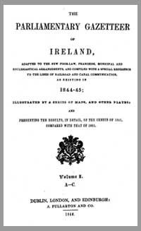 photo of The Parliamentary Gazetteer of Ireland, 1846