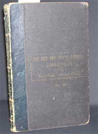 photo of Ashe's Limerick and Clare Directory 1891-92
