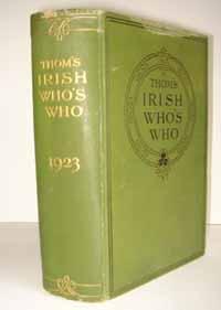photo of Alexander Thom & Co., Thom's Irish Who's Who, 1923