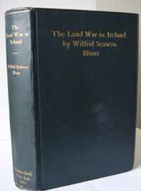 photo of Blunt's The Land War in Ireland, 1912